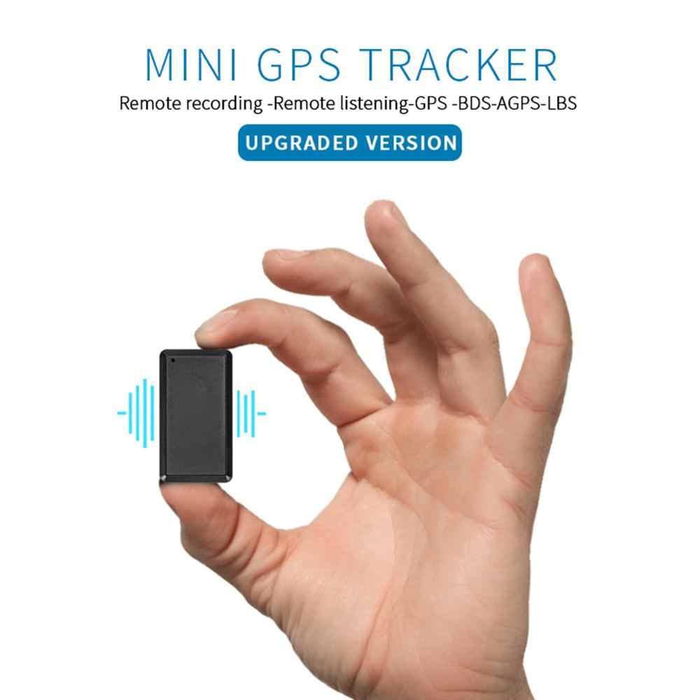 Новый мини-трекер портативный ABS Высокочувствительный Мини Gps-трекер автомобильный GPS-локатор с платформой и приложением отслеживание в реальном времени для автомобиля