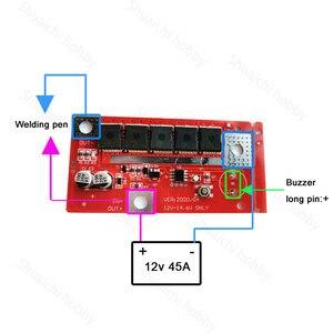 Image 3 - 18650/26650/32650 lityum pil enerji depolama nokta kaynak kurulu DIY kaynakçı PCB devre modülü taşınabilir lehimleme makinesi