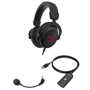 Image 5 - New Kingston HyperX Cloud Core+7.1 surround Gaming Headset With a microphone Professional esport headphones headphone black
