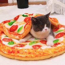 سرير للحيوانات الأليفة ، حصائر بيتزا متينة وناعمة ، للقطط والكلاب ، بيت الكلب ، تيدي ، أربعة مواسم