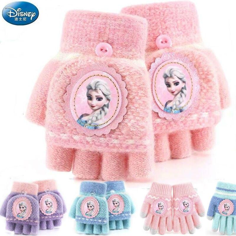 100% Genuine Disney 2019 Frozen Elsa Anna Winter Glove Spiderman Plush Doll Stuffed Mittens Toy Kids Children Toy Christmas Gift
