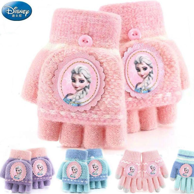 100% Genuine Disney 2019 New Frozen Elsa Anna Winter Glove Plush Dolls Stuffed Mittens Toy Kids Children Toy Christmas Gift Hot