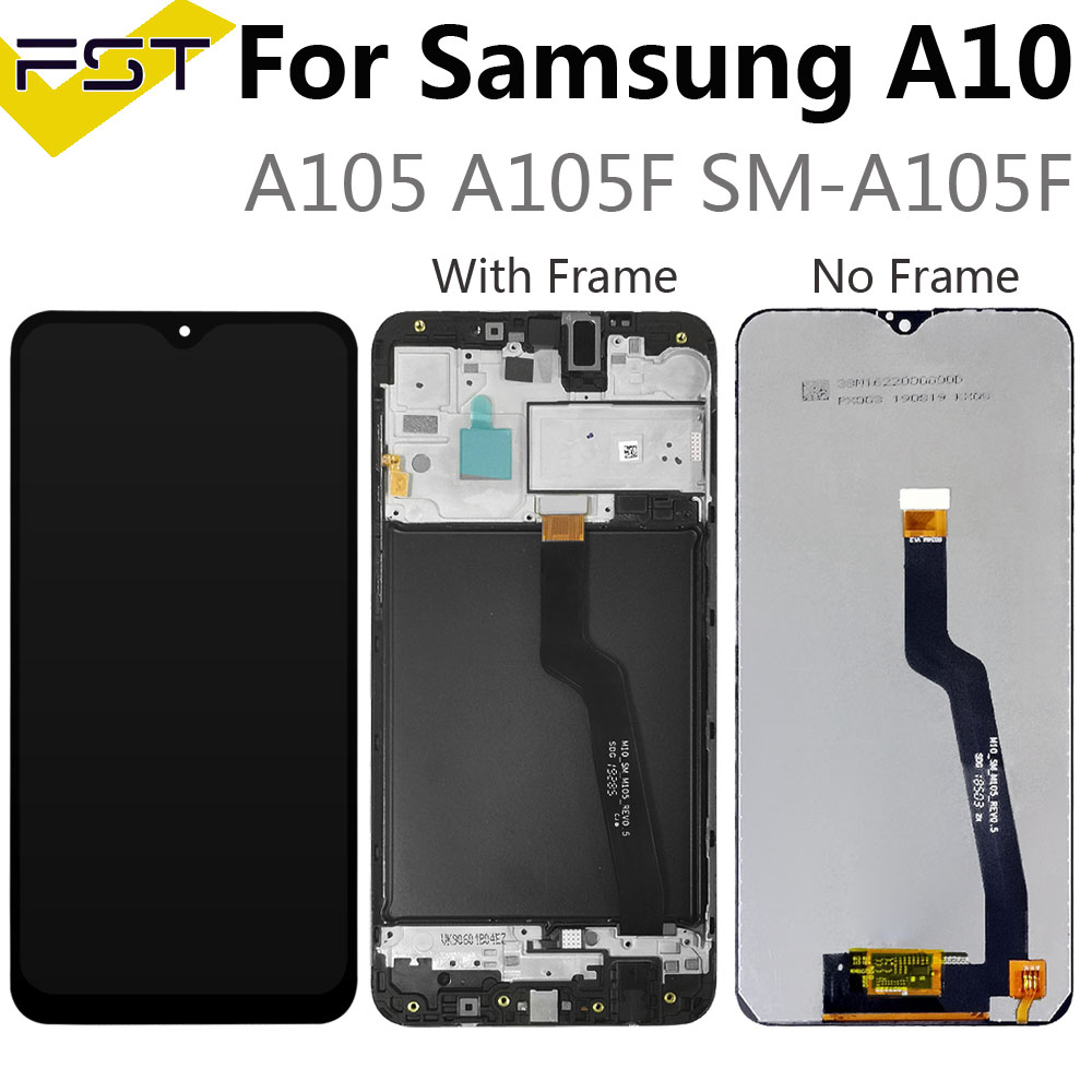 6.2''For <font><b>Samsung</b></font> Galaxy <font><b>A10</b></font> A105 A105F SM-A105F <font><b>LCD</b></font> Display With Touch <font><b>Screen</b></font> Digitizer Assembly Spare Parts+Tools image