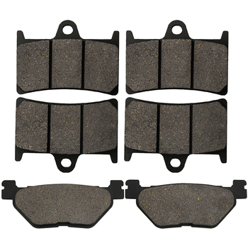 Yerbay Motorcycle Parts Front and Rear Brake Pads For Yamaha TDM900 TDM 900 2002-2010 FJR1300 FJR 1300 2001 2002 2003 2004 2005 image