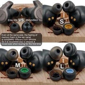 Image 2 - Misodiko Tws Pro di Gomma Piuma di Memoria Auricolari per Ture Auricolari Senza Fili Samsung Galaxy Gemme, gear Iconx/Bragi Dash Pro per Le Cuffie