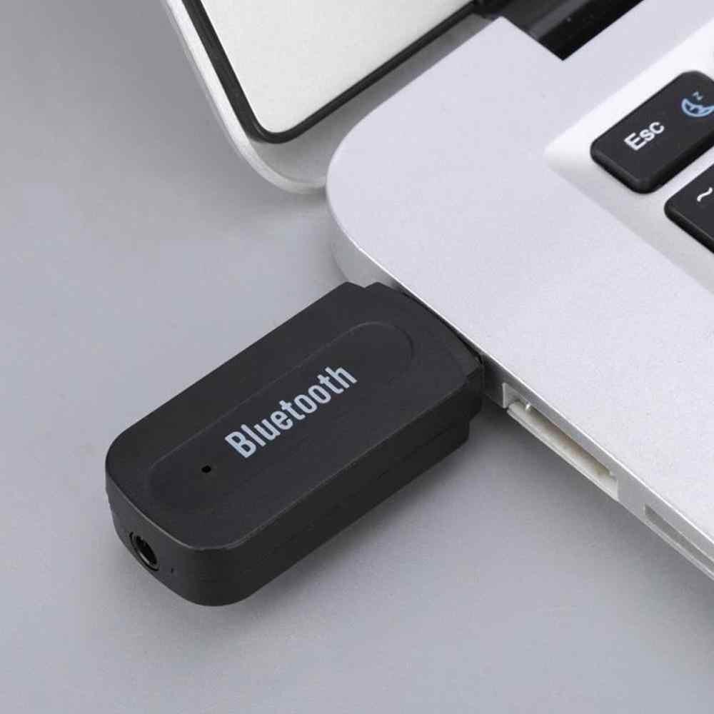 BT-163 receptor de Audio Bluetooth de 3,5mm de salida Dual receptor de música inalámbrico adaptador Bluetooth USB AUX receptor de Audio para coche