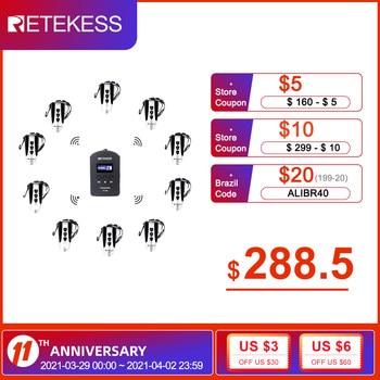 RETEKESS TT106 2.4G UHF Wireless Tour Guide Transmission System For Business Meeting Church Translation Factory Visit Training 1
