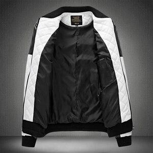 Image 3 - 2020 Mens מעילי עור מזדמן באיכות גבוהה קלאסי אופנוע אופני מעיל גברים בתוספת עבה מעילי האביב/סתיו chaqueta hombre