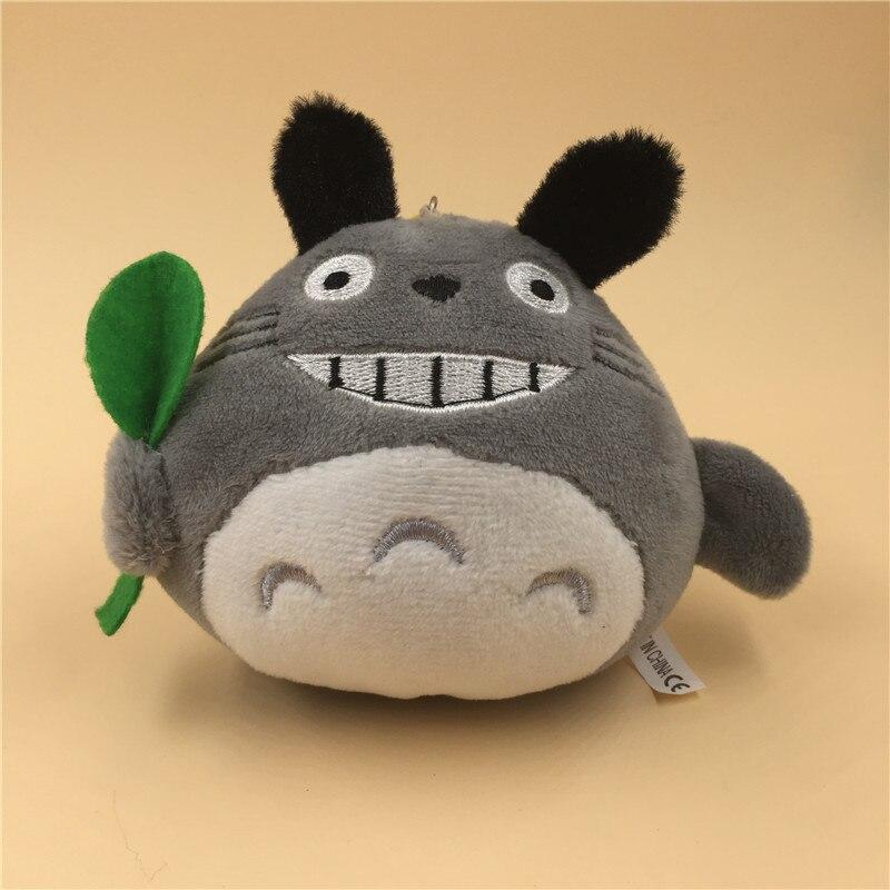Novelty 1Piece Totoro Plush Dolls - SIZE 10CM CAT Keychain DOLL TOY Stuffed BAG Pendant N26