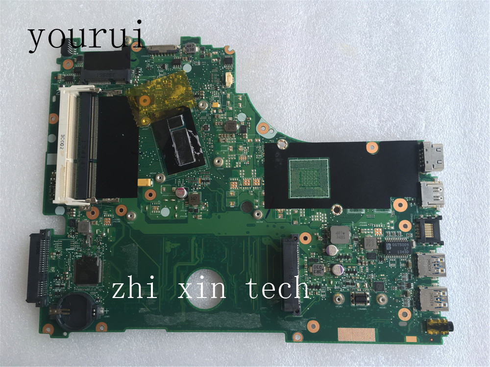 yourui Original For <font><b>ASUS</b></font> <font><b>X750LB</b></font> X750LA Laptop motherboard with i5-4200 DDR3 Test work perfect image