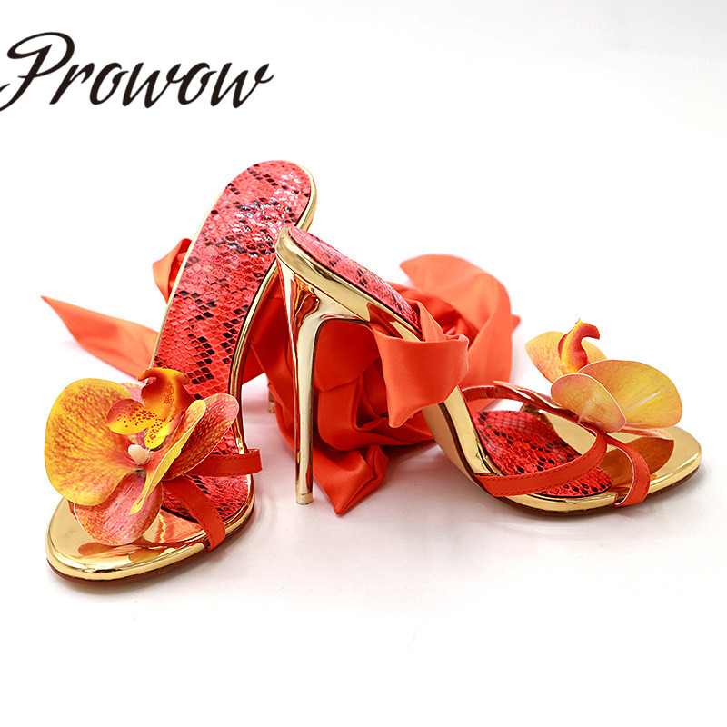 Prowow New Spring Summer Gladiator Lace Up HIgh Heel Sandals Open Toe Butterfly Thin HIgh Heel Vacation Sandals Shoes Women