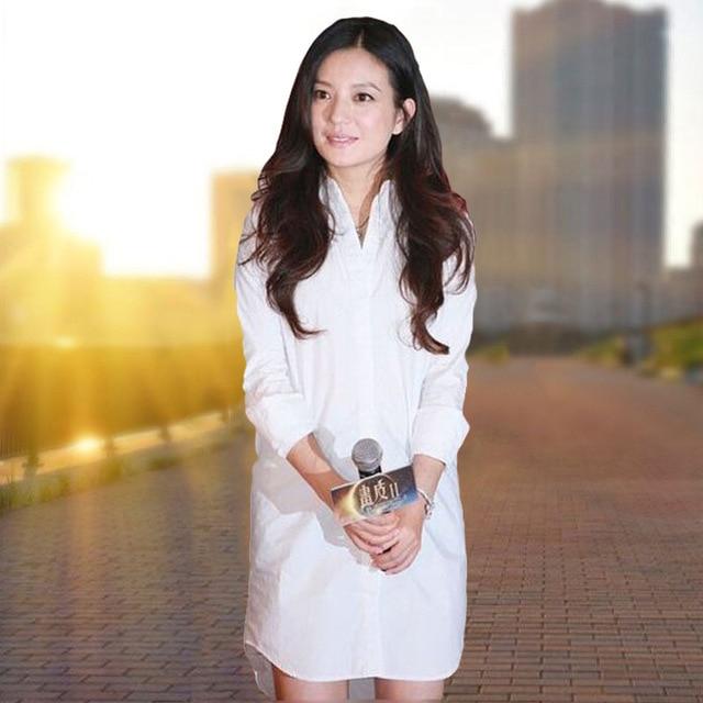 White Blouse Women's Blusas Mujer De Moda 2020 Plus Size Casual Vintage Blusa Women Tops Long Sleeve Shirt Ladies Camisas Mujer 2