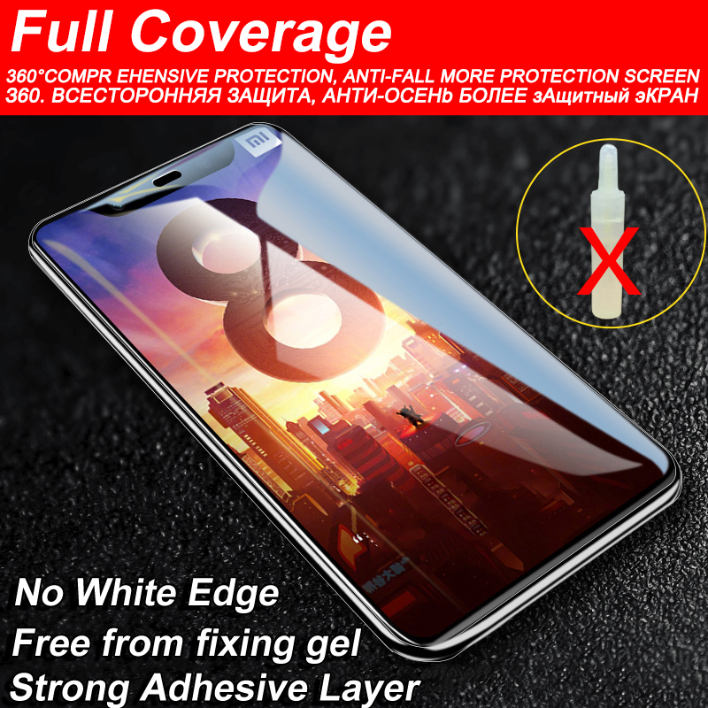 Image 2 - 6D Glass for Xiaomi Redmi Note 7 6 Pro 5 4X Screen Protector on Redmi 7A Note 7 5 6 Pro Tempered Protective Glass for Xiaomi Mi 9 SE 8 A2 Lite A3 CC9 CC9E Mi 9 Safety Glass Redmi Note 7 5 6 Pro 4X 7A Screen Protection-in Phone Screen Protectors from Cellphones & Telecommunications