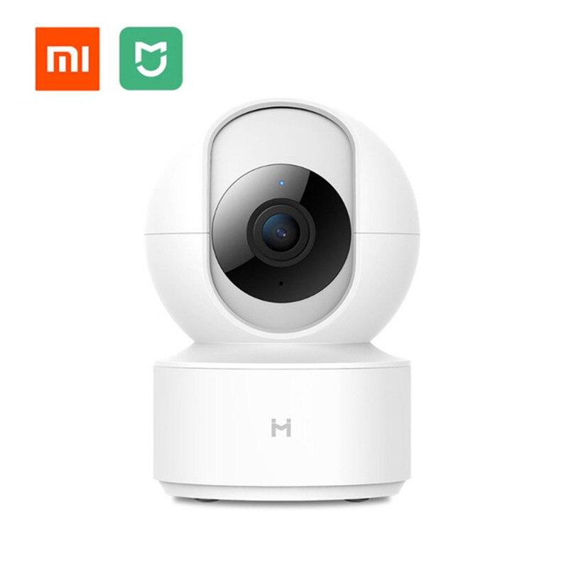 Xiao mi mi jia Chuang mi caméra IP intelligente PTZ 1080P HD Webcam caméscope 360 Angle WIFI caméra sans fil Vision nocturne pour mi maison