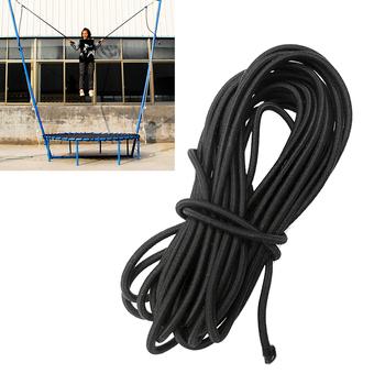 197in mocne elastyczne liny Bungee lina amortyzująca rozciągliwy sznurek DIY tworzenia biżuterii odkryty projekt namiot łódź kajak torba bagaż tanie i dobre opinie CN (pochodzenie) Elasticated Shock Cord Circular Elastic Shockcord Rope Multi-function Length 197in Width 0 12in Polyester