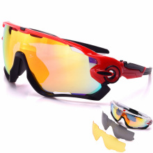 ROBESBON  Cycling Sunglasses 3pcs Men Sport Eyewear Photochromic Ski Goggles New