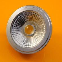 Диммируемый светодиодный светильник 15 Вт AR111, базовый светильник G53/GU10 QR111 COB, точечный светильник высокой мощности, встроенный теплый белый ...