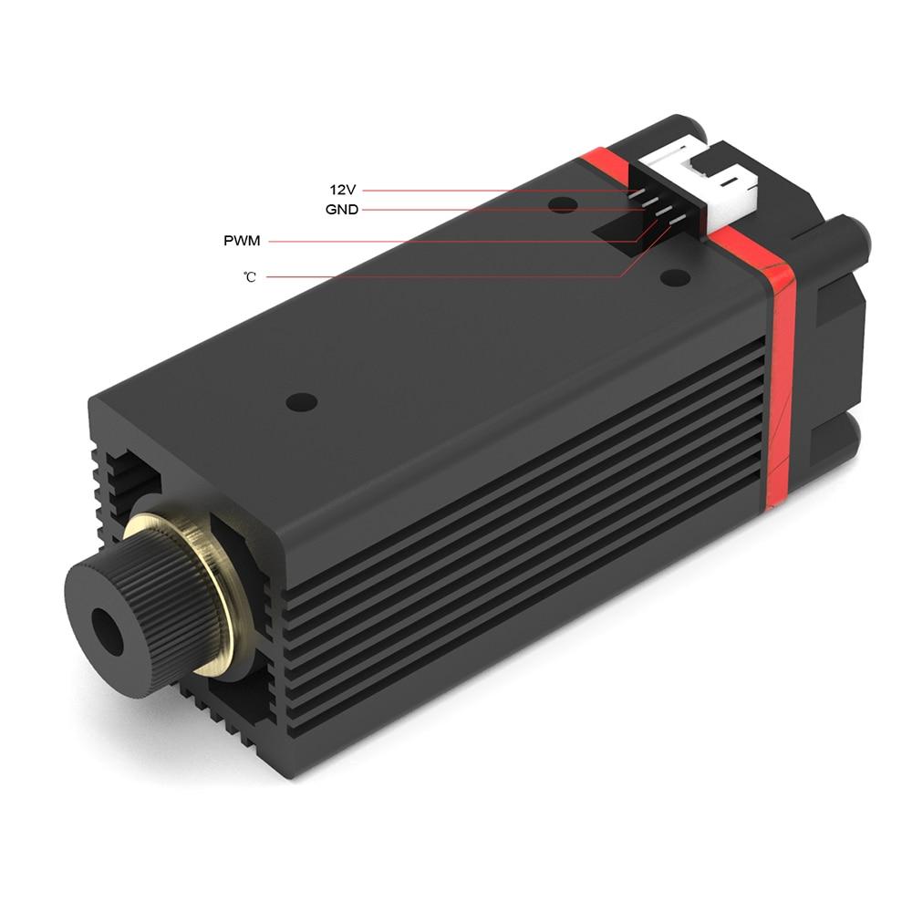 Cabezal láser de luz azul, 3500mW-20000mW, 450nm, para serie principal, bricolaje, máquina de grabado, accesorio, novedad