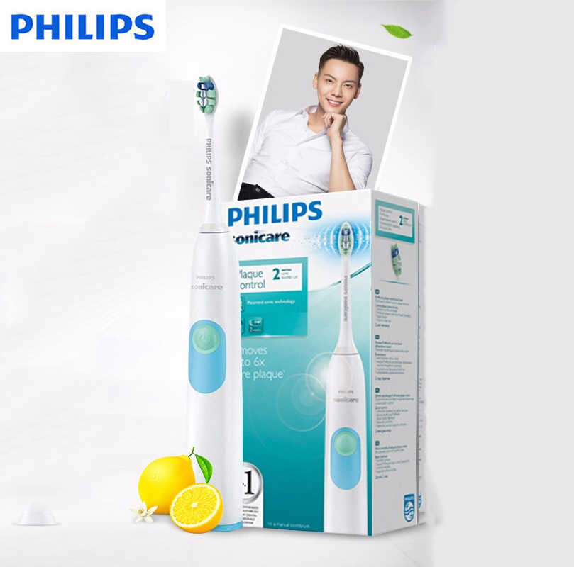PHILIPS Electric Toothbrush HX6231 with Waterproof Body Toothbrush Smart Timing Teeth Whitening Gum Care for The General image