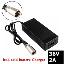 36V 2A lead-acid battery charger for 41.4V electric scooter e-bike wheelchair Charger lead acid battery 3-Pin XLR Connector 42v 2a electric bike lithium battery charger for 36v electric scooter microphone xlr head good quality