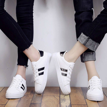 Women Classics White Shoes Low Cut Flats Spring Autumn Fashion Sneakers Woman Skateboarding Shoes Trainers Ladies Casual Shoes soft slip on shoes women fashion 2019 sneakers autumn casual shoes canvas shoes women white low flat breathable skateboarding