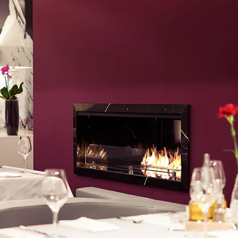 Inno Living 24 Inch Smart Remote Controlled Bio Ethanol Fireplace