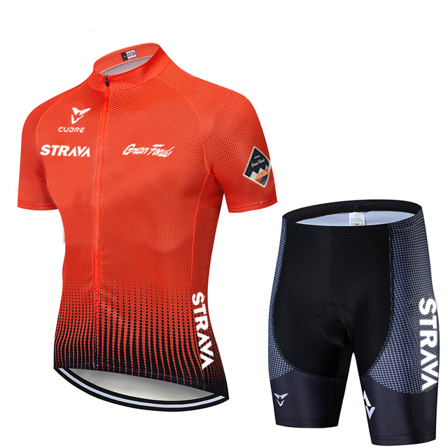2020 nova branca strava pro equipe de bicicleta manga curta maillot ciclismo men camisa ciclismo verão respirável conjuntos roupas 6
