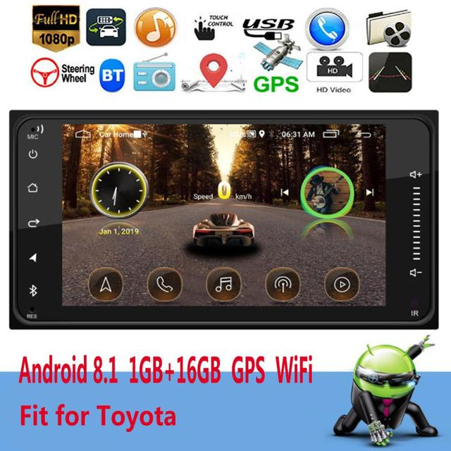 """2DIN Andriod Car Radio 7"""" Bluetooth Stereo Multimedia player Autoradio MP3 MP5 Touch Screen Auto Radio Support Rear View Camera"""