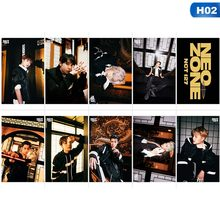 10 Pz/set KPOP NCT 127 Nuovo Album NeoZone Photo Card Poster Carte Lomo Carta Di Cristallo Tesserino Ventole Regalo Collezione(China)