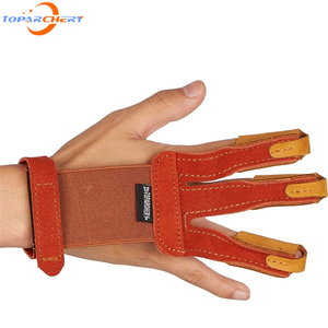toparchery Hand Guard Finger Guard Arm Guard Archery Protective Gear Shooting Protector Hunting Accessories