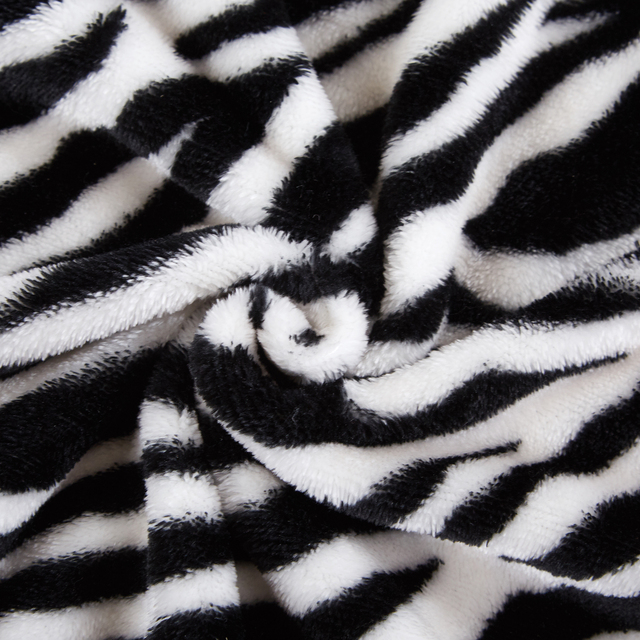 Merrylife Throw Blankets for Sofa bed Pattern Print Striped Cheetah Zebra Home Textile Flannel Plush Soft Travel Oversized 3