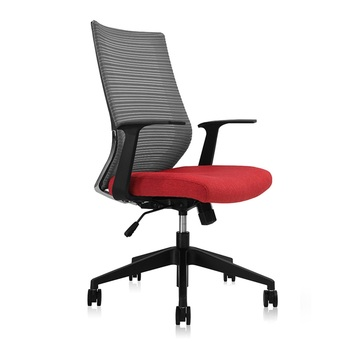 High Quality Mesh Red Seat Office Chair STG Reclining Gaming Chair High Back Lying Computer Chair Nylon Frame Chair reclining office chair rocking computer chair thickened cushion 145degree lying adjustable bureaustoel ergonomisch sedie ufficio