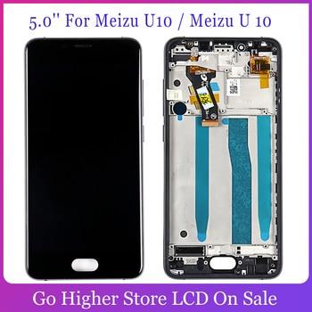 5,0 para Meizu U10 / Meizu U 10 Digitalizador de pantalla táctil pantalla Lcd herramienta de montaje gratis