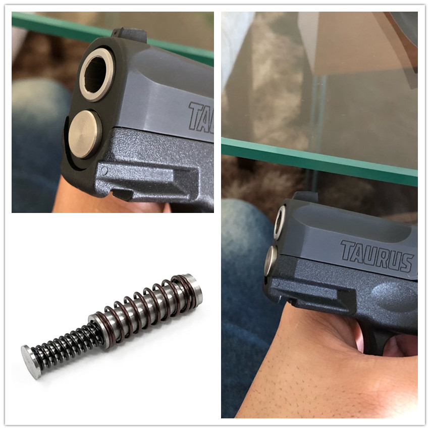 Stainless Recoil Guide Rod Assembly For Taurus G2C G2S PT111 Millennium G2 Replacement Spring Set 9mm Concealed Carry Holster