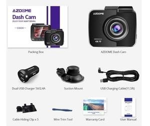 Image 5 - AZDOME 2160P GS63H Car DVR GPS 4K WIFI Dash Camera Dual Lens 1080P Rear View Camera Super Night Vision Dashcam 24H Parking Mode