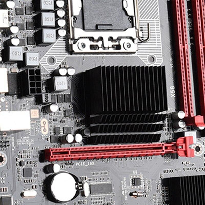US $51 44 X58 Motherboard Lga 1366 Supports Reg Ecc Server