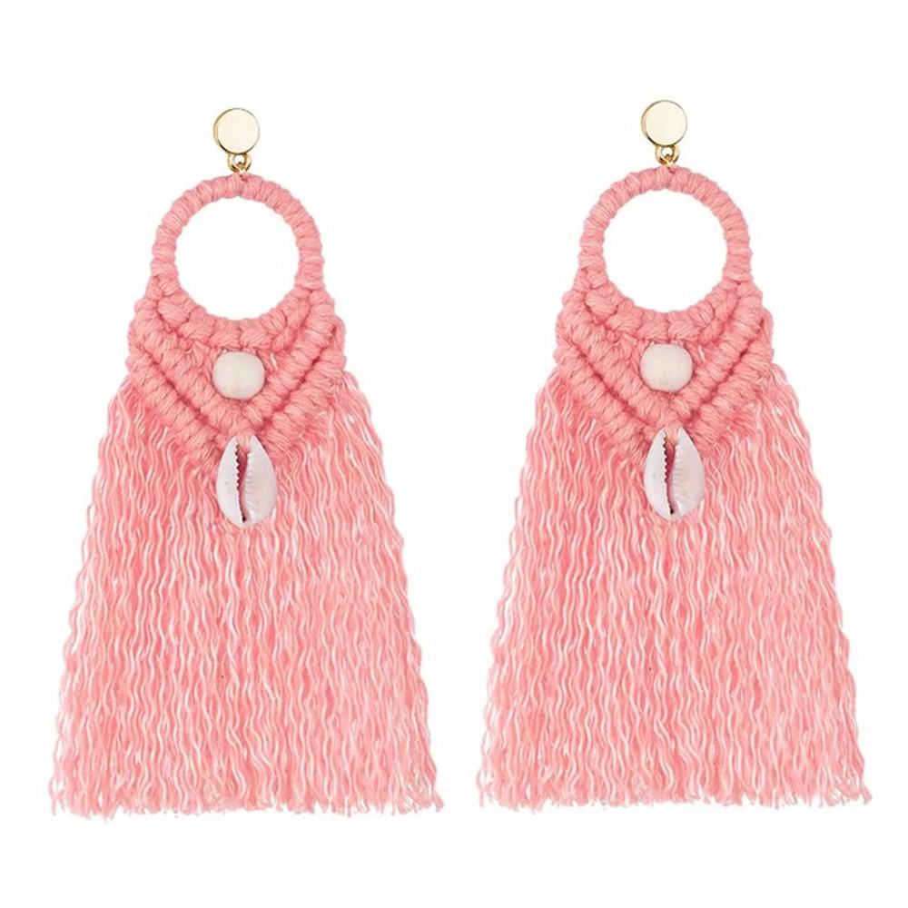 Bohemia Oorbellen New Fashion Woman Earrings Long Tassel Drop Earrings High Quality Handmade Earrings 2020 Earrings Pendientes