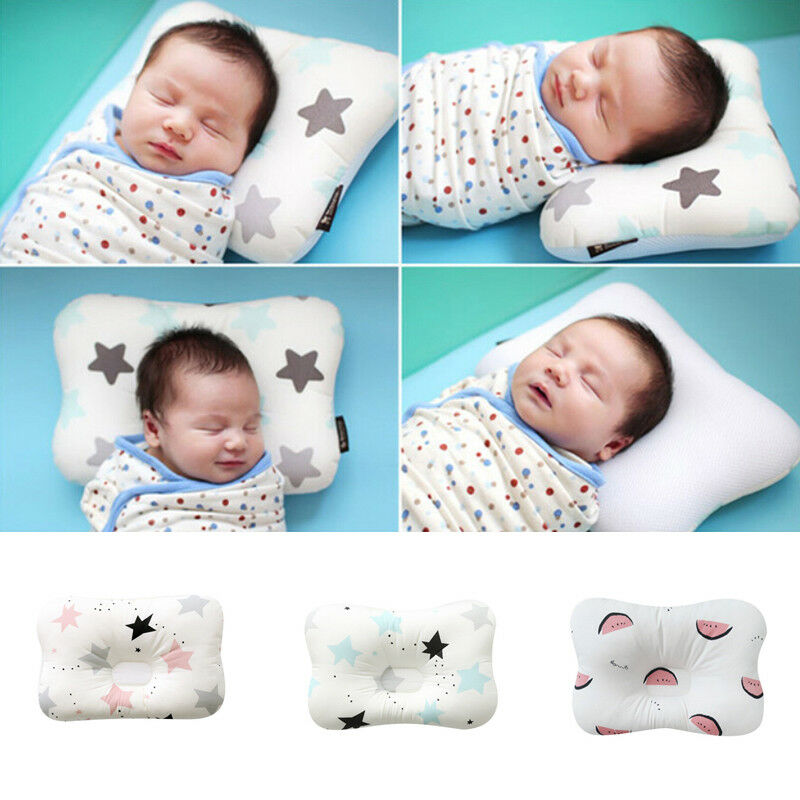 2020 Brand New Toddler Baby Infant Newborn Sleep Positioner Support Pillow Cushion Prevent Flat Head Baby Pillow