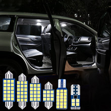 3pcs Error Free Auto LED Bulb Car Interior Dome Light Reading LampTrunk Glove Box Lights For Dodge JCUV 2013-2015 2016 2017 2018(China)
