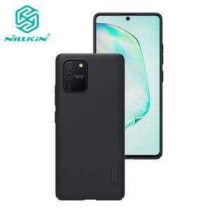 Image 1 - For Samsung Galaxy S10 Lite back cover case NILLKIN Super Matte Frosted Shield cover case For Samsung S10 Lite