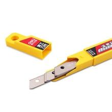 Гастрономическая 2012 10шт/УП 9мм нож лезвия из углеродистой и низколегированной стали бумаги канцелярские художественная резка дропшиппинг