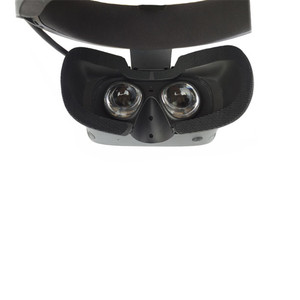 Image 5 - for Oculus rift s VR Memory Face Foam Replacement . Comfortable Pu Leather Cushion Pad, Increased FOV.