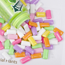 10 Pcs/lot Candy Chewing Gum Filler for Clear/Fluffy Mud Box Toys Kids Lizun Slime DIY Kit Accessories Children Modeling Clay