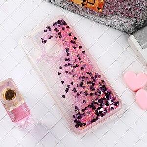 Блестящие чехлы для телефонов Huawei Honor 10 Lite 8C P10 PLUS P8 P9 Lite, мягкий силиконовый чехол из ТПУ с динамическим жидким зыбучим песком