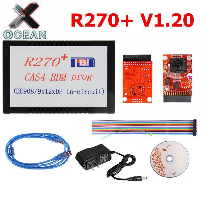 R270 BDM R270+ V1.20 Programmer for BMW CAS4 BDM Professional for bmw key prog Car Diagnostic R 270 Auto Key Programmer