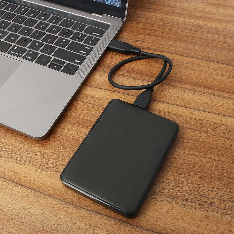 1 ТБ/2 ТБ портативный внешний жесткий диск HD высокой емкости SATA USB 3,0 устройство хранения оригинальное для компьютера ноутбука
