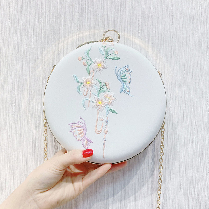 Сумка-мессенджер с вышивкой Cheongsam, китайская ручная сумка с вышивкой, новинка, ручная сумка, вечерние сумки - Цвет: 09