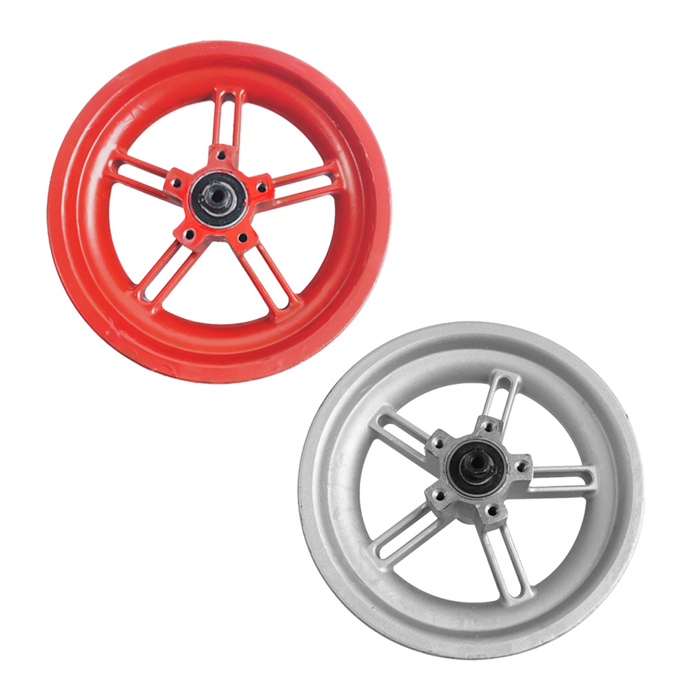 Electric Scooter Hub Rear Iron Durable Wheel Tire E-bike 8.5 Inch Scooter DIY Tyre Hub For Xiaomi Mijia M365 Decoration