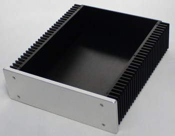 All-Aluminum Power Supply Case DAC Decoder Class A Amplifier DIY Chassis WA92 цена 2017