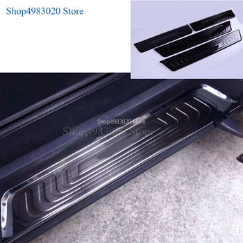 door sill protect strip scuff plate for Mercedes Benz V Class V200 V220 V250 V260 Vito Viano W447 2014-2019 2020 car accessories image